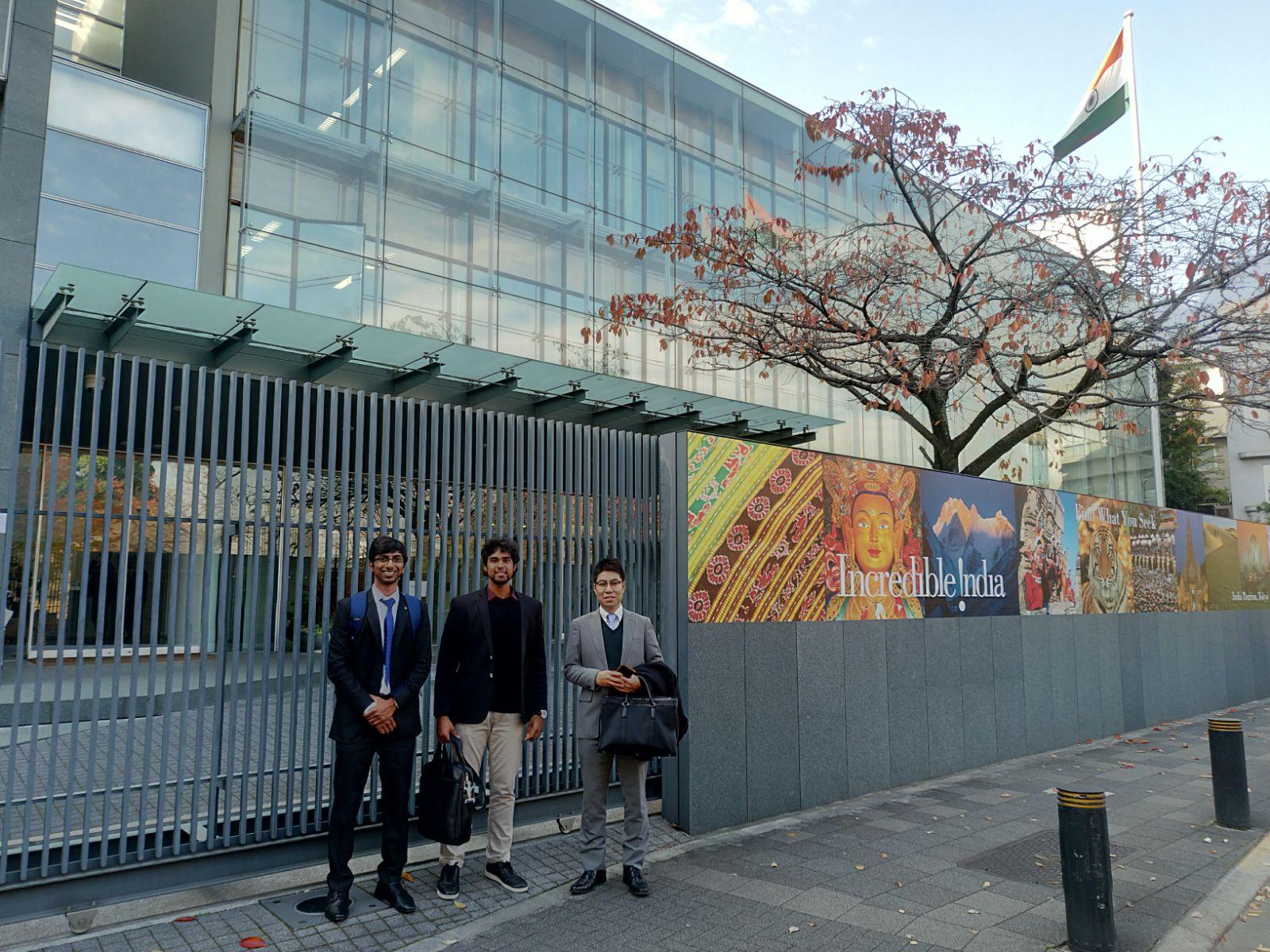 インド大使館に行ってきました! | PIITs
